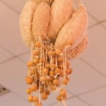 « Cocon » coton, corde, bois 150 cm