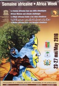 Affiche Africa week 2016