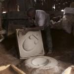 Fabrication d'un moule en terre