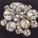 """""""Liens"""", raku, ensemble de pièces de 10 à 28 cm"""